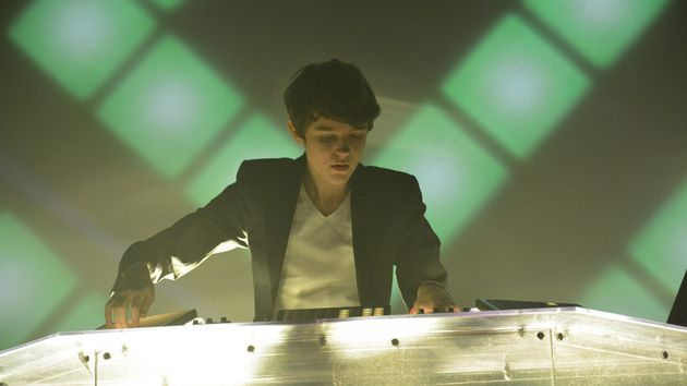 Madeon rocks the crowd at Global Gathering 2013.