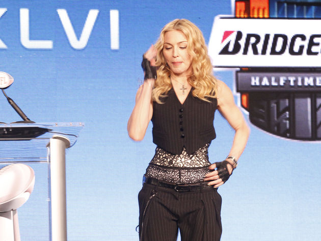 Madonna joins Up With People, Disney dancers, Prince, U2 and The Who as big game entertainment