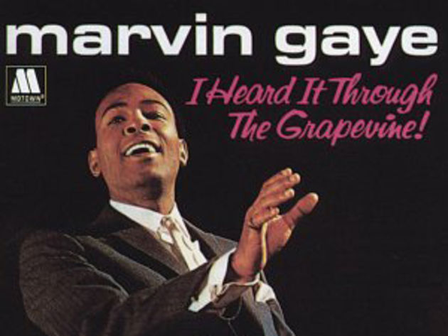 We heard through the grapevine that Marvin has topped the list.