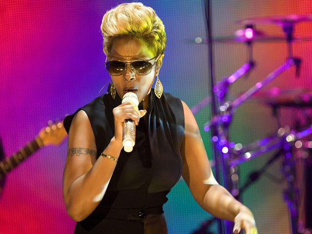 Blige wants to give you every inch of her...oh, nevermind