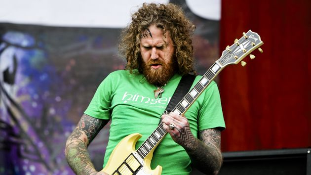 "Brent Hinds says that Mastodon's new LP will survey ""relationships and life in general."""