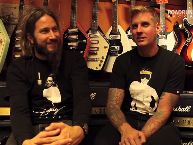 Mastodon's Troy and Brann sit down with Roadrunner to talk Rush