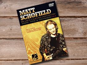 Matt Schofield's Blues Guitar Artistry DVD out now
