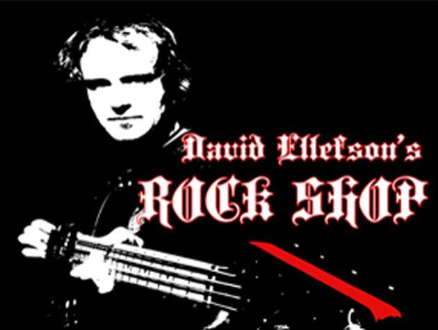 Ex-Megadeth bassist Dave Ellefson' Rock Shop