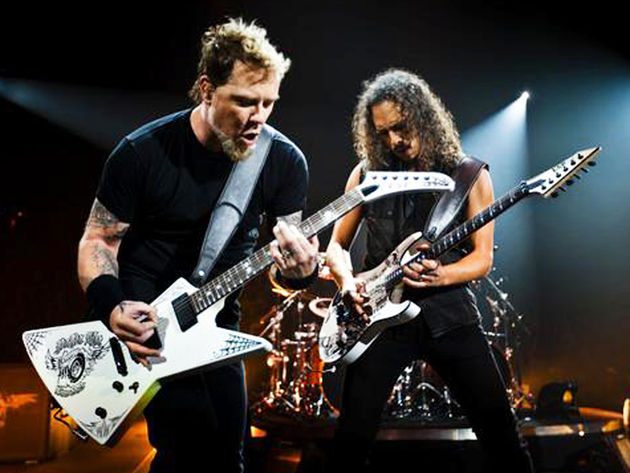 Hetfield, Hammett and co 'Enter' radio poll at No. 1