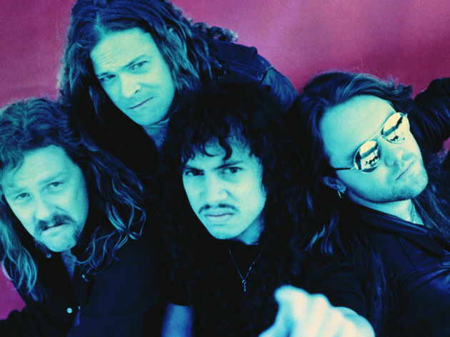"At their Orion fest, Metallica (seen here in 1991) went 'Black"" to the future"