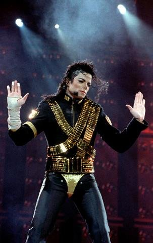 Michael jackson dangerous tour
