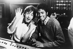 Michael jackson and paul mccartney