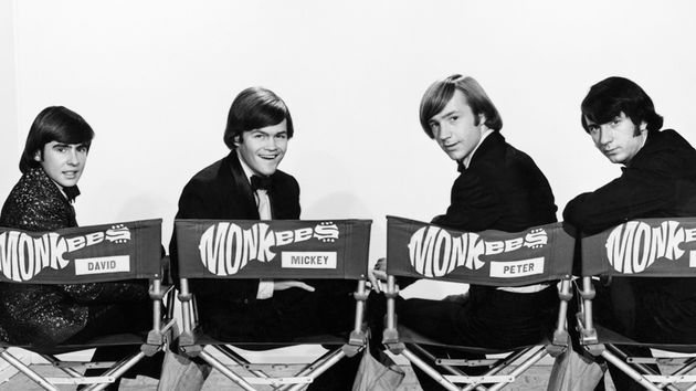 "Somebody didn't know how to spell ""Micky."" The Monkees in 1966. (from left) Davy Jones, Micky Dolenz, Peter Tork and Mike Nesmith"