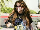 Miley Cyrus an Iron Maiden fan? Yeah, right!