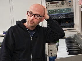In pictures: Moby's bedroom studio