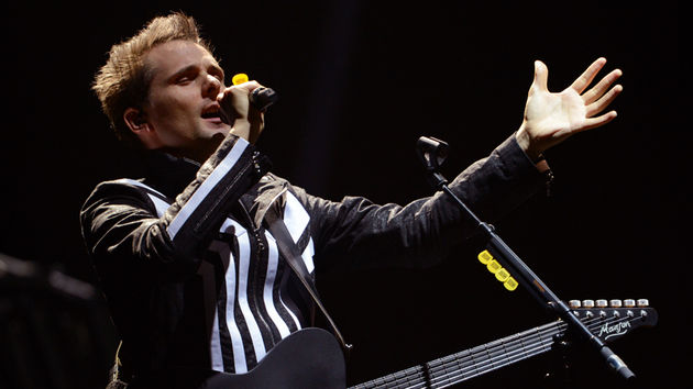 Matt Bellamy's foot injury isn't supermassive, but he is benched for a few gigs