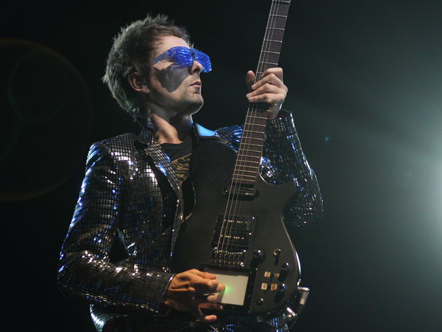 Matthew Bellamy and his Muse mates drop the bass on The 2nd Law