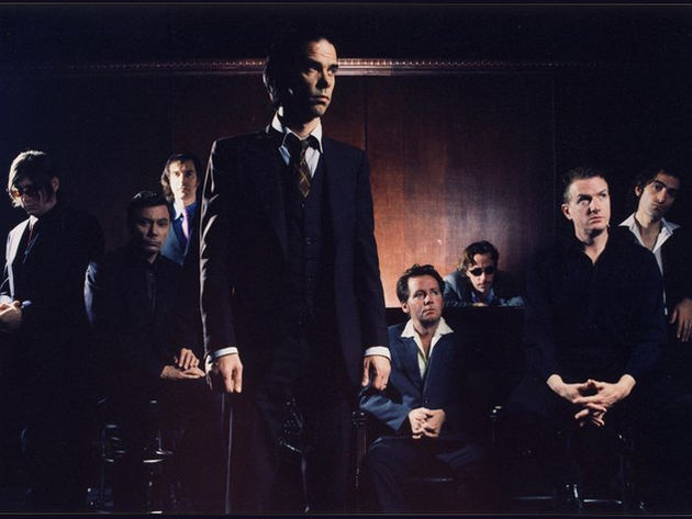 Nick Cave And The Bad Seeds (Mick Harvey is second from right)