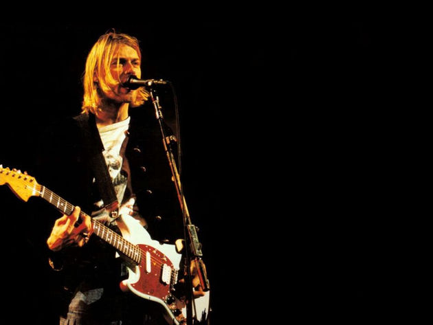 Kurt Cobain's guitars are rarely auctioned
