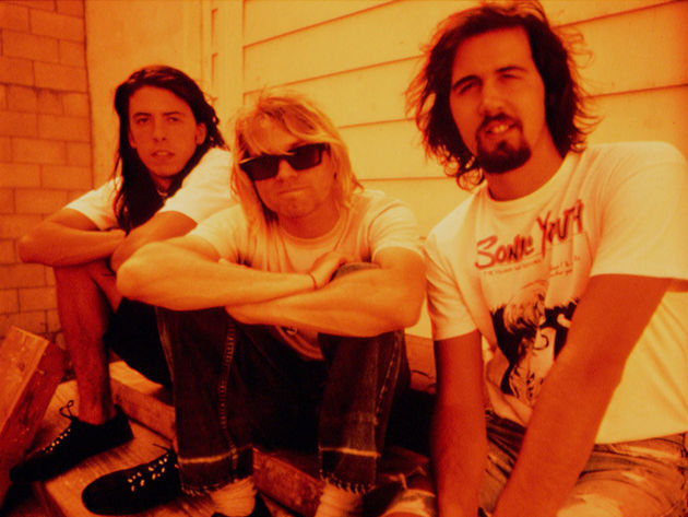 Dave, Kurt and Krist in 1991