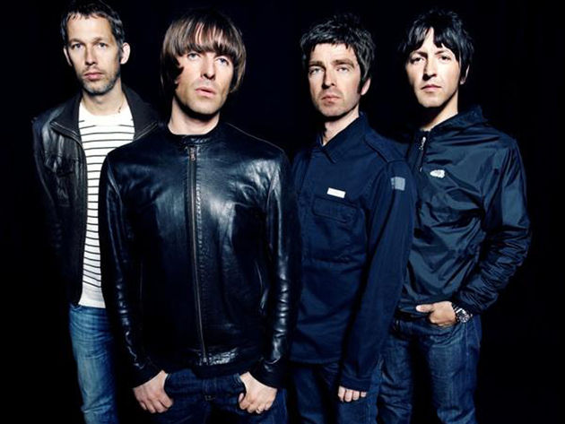 Oasis, who probably won't be needing those jackets in the Spanish sunshine