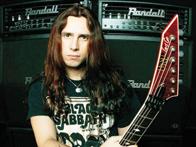 Gus G might be Ozzy's new axeman. Then again...maybe not