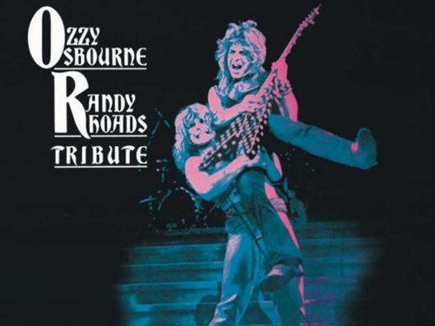 For fans of Randy Rhoads, a rare gift - a previously unseen video that's almost eight minutes of soloing!