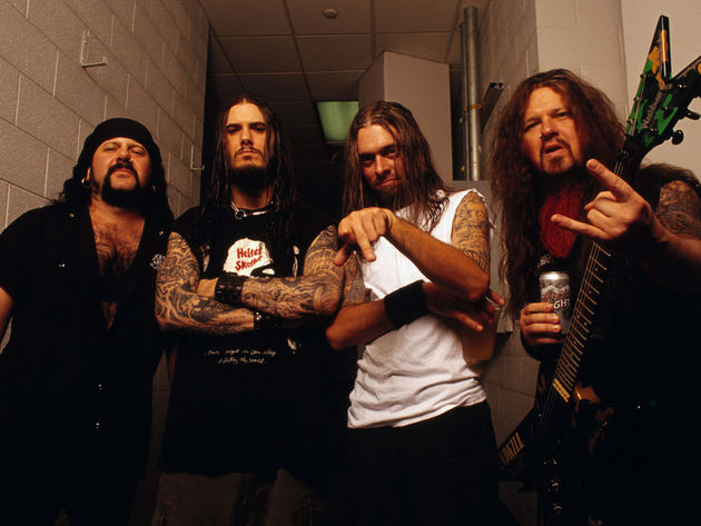 Pantera, pictured in 2001