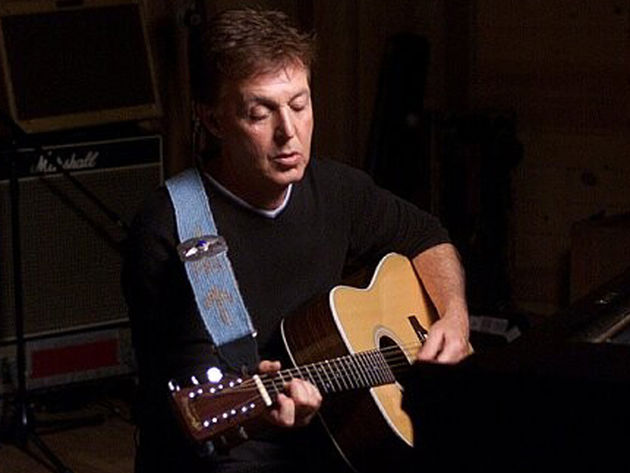 Blackbird and Yesterday are just a couple of classics featuring Macca's acoustic style