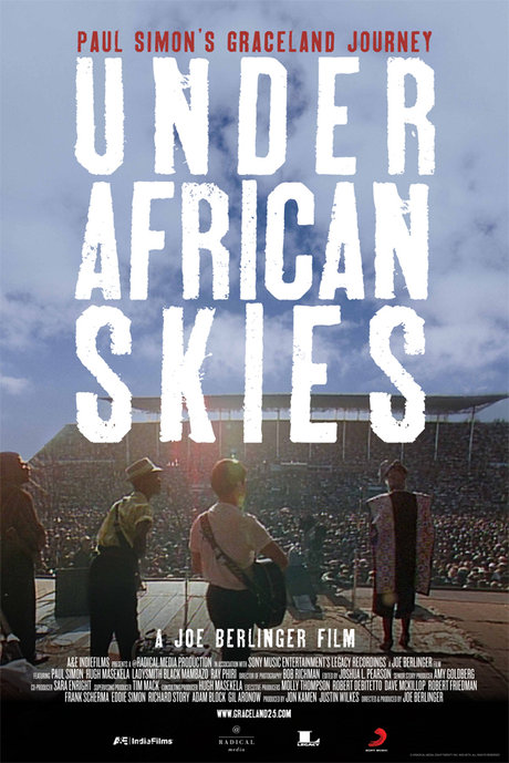 Review: under african skies – paul simon's graceland journey poster