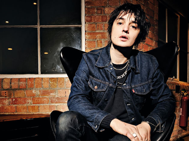 Pete Doherty - guitars confiscated!