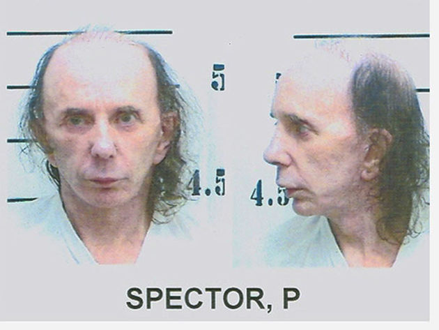 Spector's mug shot, taken 5 June