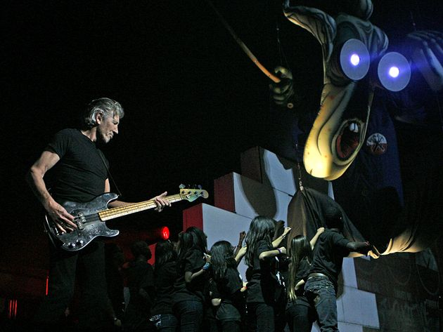 Roger Waters' Wall Live show is an impressive production