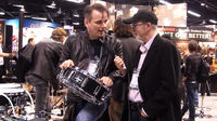NAMM 2013 VIDEO: Gavin Harrison presents his signature Sonor Protean snare drums