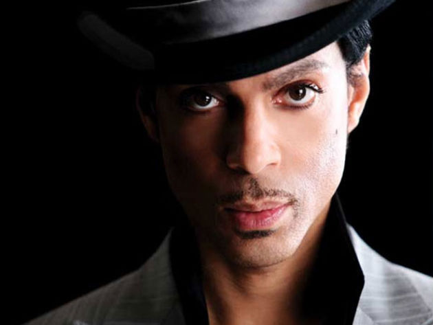 Prince: he'll let his music do the talking.