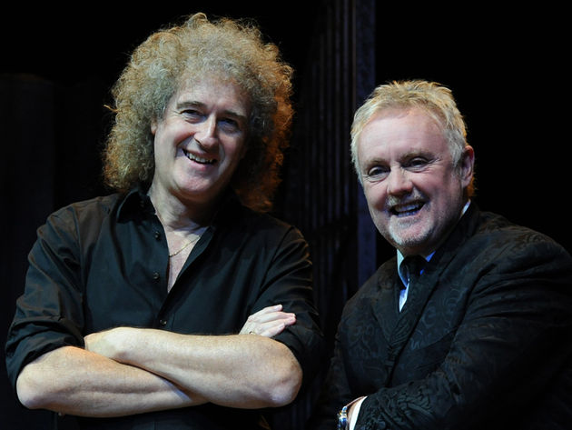 "Brian May and Roger Taylor: ""going through old drawers"""