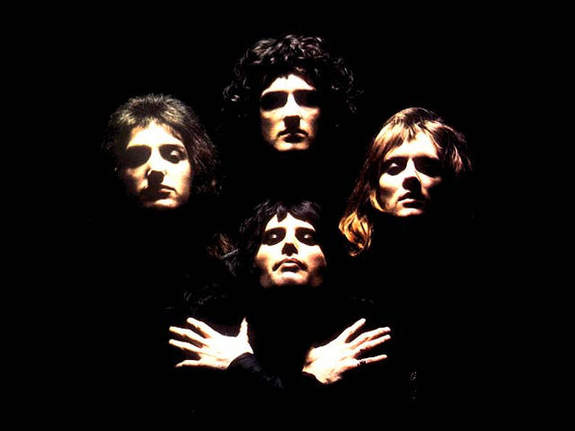 Hits from throughout Queen's career are featured.