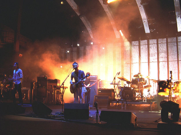 Phil with Radiohead in 2006