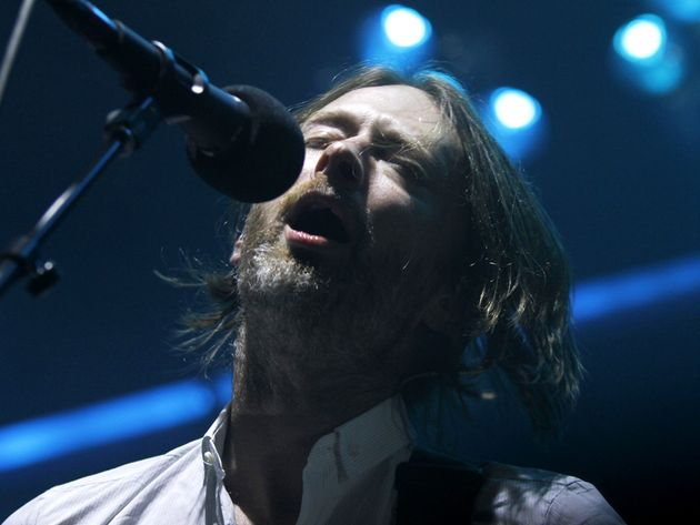 Is it just us, or is Thom Yorke starting to look like Eric Clapton?