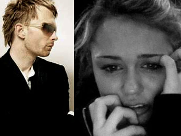 Thom Yorke and co have unwittingly upset Miley Cyrus