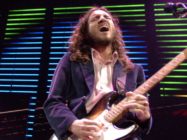 John Frusciante (pictured) and Omar Rodriquez-Lopez are set to 'give it away'