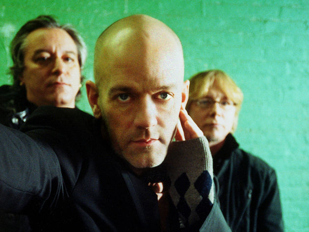 REM in one of their last band photos, March 2011