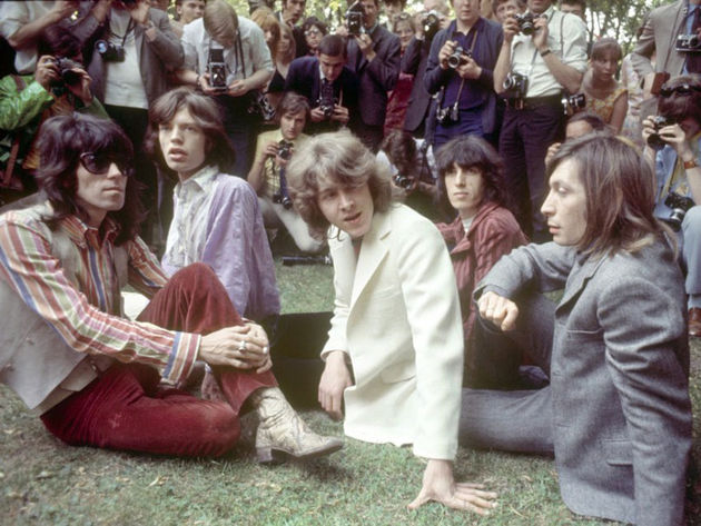The Rolling Stones at Hyde Park, June 1969