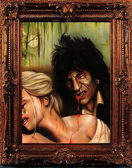 Ronnie wood vampire