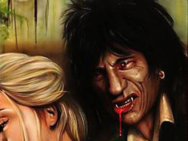 Ronnie Wood: fangs very much