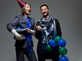 Röyksopp celebrate Happy Birthday
