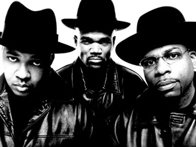 Kings of Rock: Run-DMC with Jam Master Jay (right)
