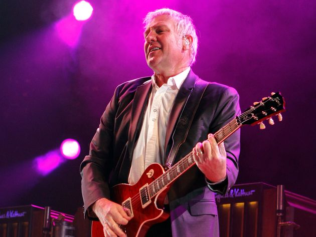 Lifeson channeled his inner Buddy Holly on Rush's first single