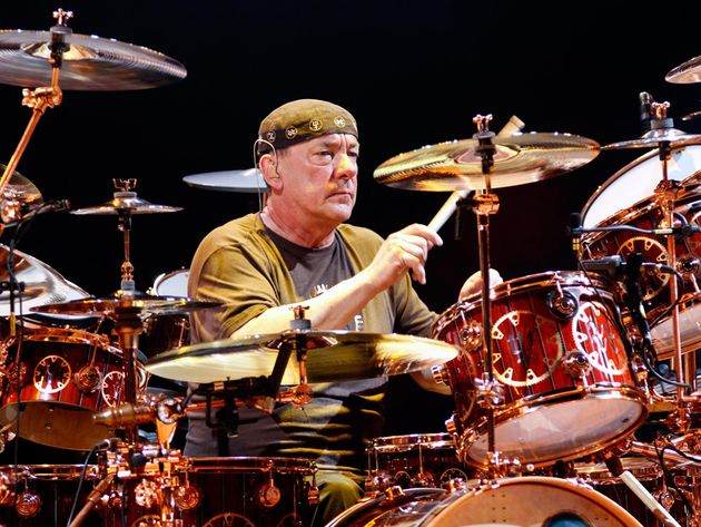 Buddy Rich, Gene Krupa, Joe Morello...and The Marx Brothers. They all find their way into Neil Peart's drum solos