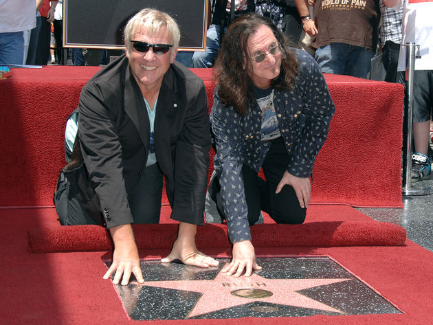 Lifeson and Lee enjoy the 'limelight'