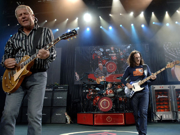 Rush have a new song, but they're not saying what it's called. Pretty sneaky, huh?