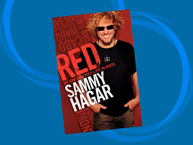 Sammy Hagar comes clean, very clean, in his autobiography Red: My Uncensored Life In Rock.