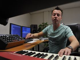 In pictures: Sander Van Doorn's synth-loaded studio