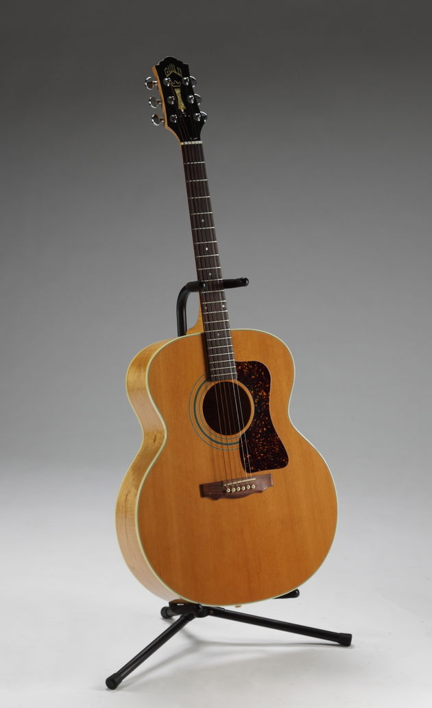 Lot 445: Slash-played Guild JF30 acoustic